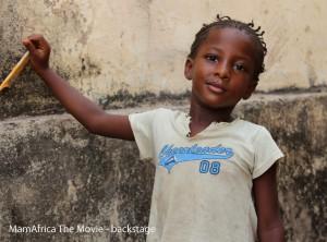 *MamAfrica – Backstage sopralluoghi 2013 #5 -Guinea, Conakry, Hafiya. Les enfants